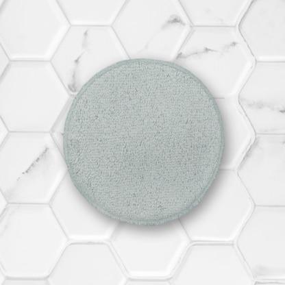 coton démaquillant lavable clarange gris