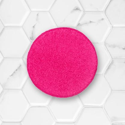coton démaquillant lavable clarange rose