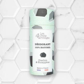 déodorant solide charbon & eucalyptus les petits prödiges