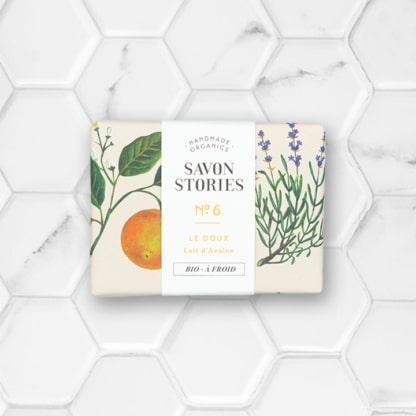 savon solide au lait d'avoine savon stories