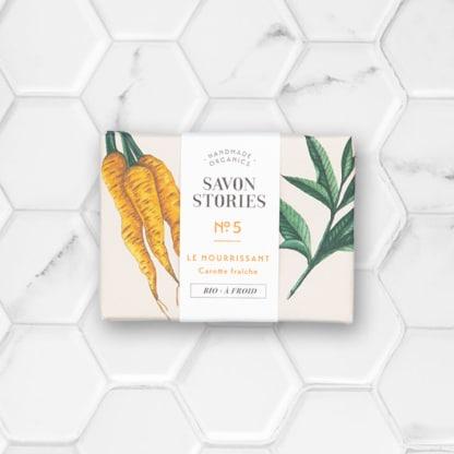 savon solide à la carotte fraîche savon stories