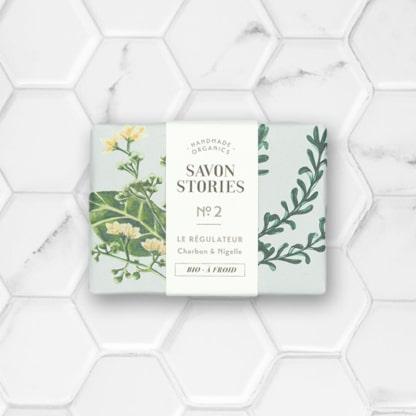 savon solide au charbon et huile de nigelle savon stories