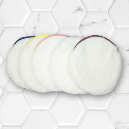 lot de 5 pancakes démaquillants paulette zéro déchet multicolor