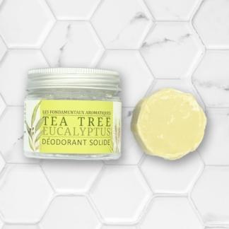 déodorant solide tea tree eucalyptus la savonnerie du nouveau monde