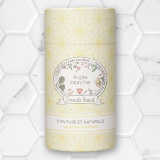 poudre d'argile blanche formule beauté