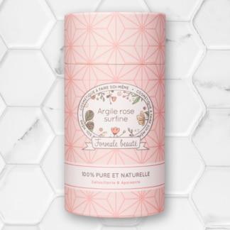 poudre d'argile rose surfine formule beauté