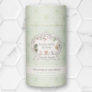 poudre d'argile verte surfine formule beauté