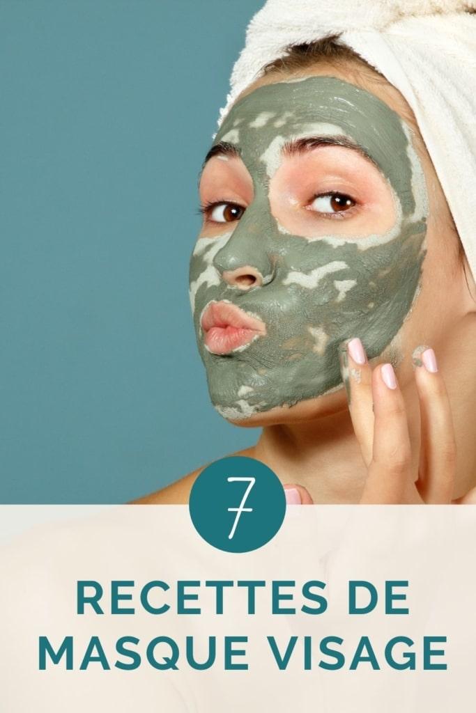 couverture article recette masque visage fait maison