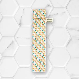 pochette à brosse à dents multicolore en coton Alterosac