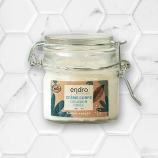 crème corps nourrissante douceur iodée endro cosmétiques