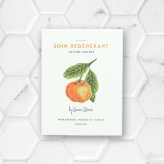 baume solide à la mandarine
