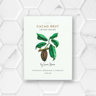 baume solide nourrissant au cacao
