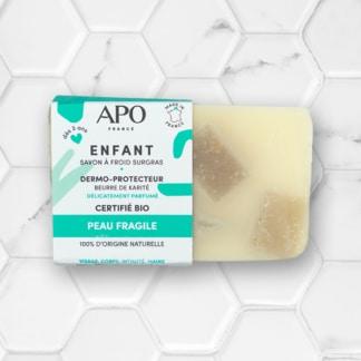 Savon solide Enfant pour les peaux fragile APO France