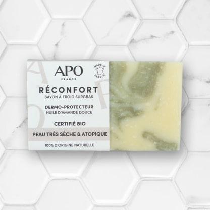 Savon solide réconfort pour peaux très sèches APO France