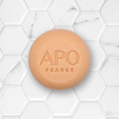 shampoing solide pour cheveux secs APO france