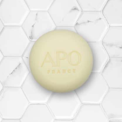 shampoing solide tous types de cheveux APO france