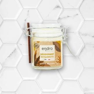 Déodorant en baume à la bergamote de Endro Cosmétiques