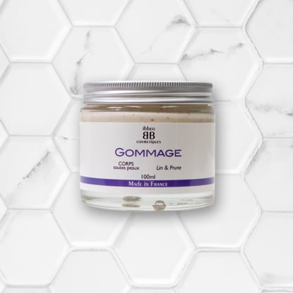gommage corps ibbeo cosmétiques