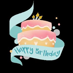 illustration gâteau d'anniversaire Frénéthique